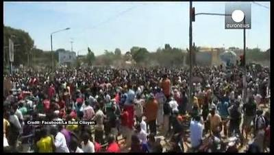 News video: Burkina Faso: Protests against president